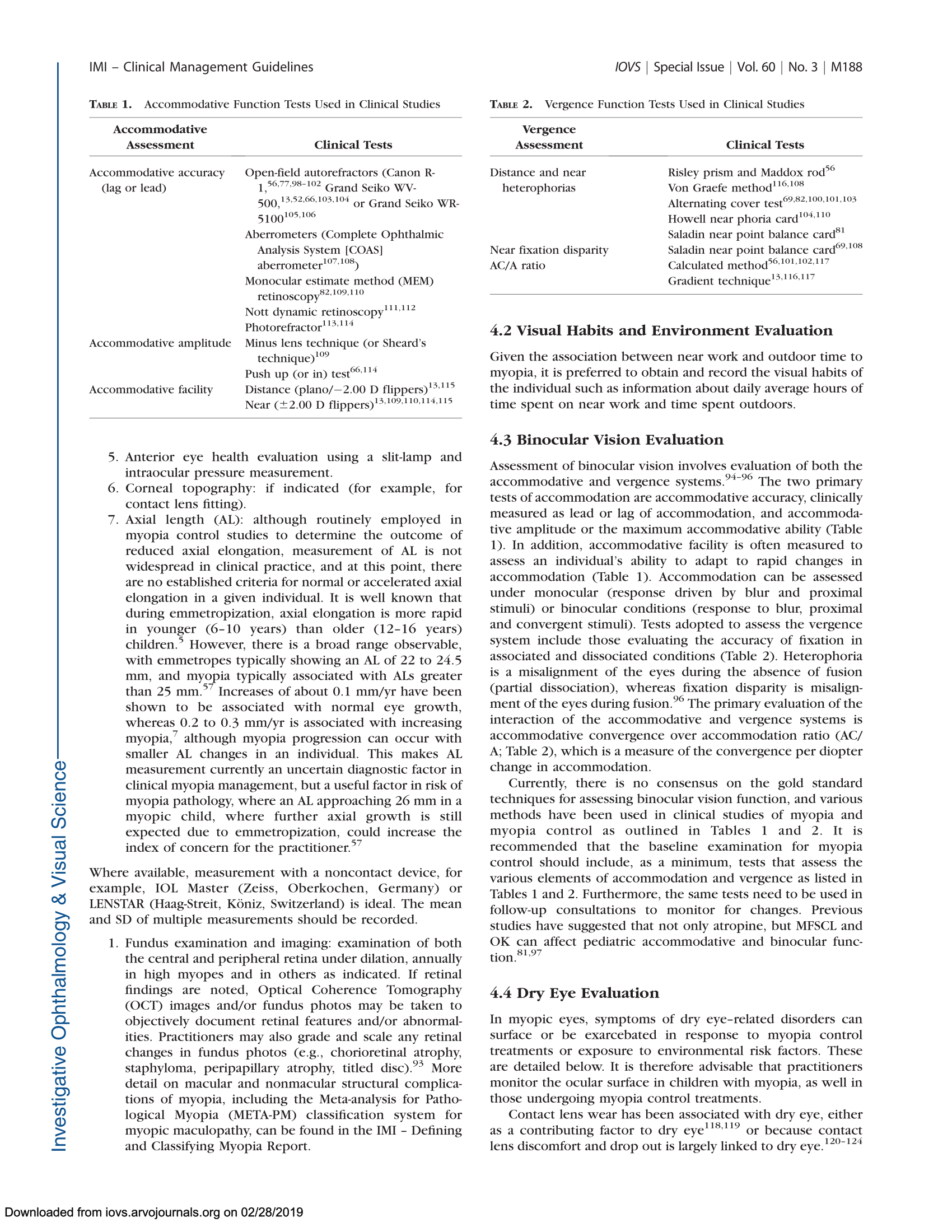 IMI – Clinical Management Guidelines Report-05